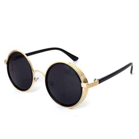 New Arrival Glasses 1942 2016 new arrival fashion mirror lens glasses cyber goggles steunk sunglasses vintage