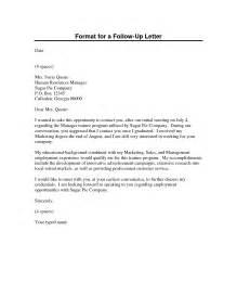 Business Letter Template Follow letter follow up letter examples resume follow up letter template
