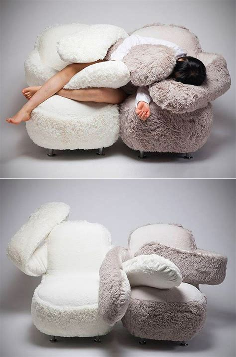 free hug sofa bizarre quot free hug sofa quot can be twisted into many different