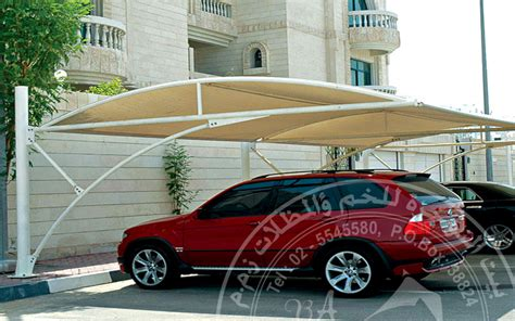 car parking designs house car parking shades from bait al nokhada parking shades