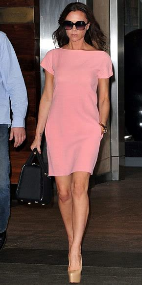 Posh Thinks Pink by Beckham Look Of The Day September 18 2011