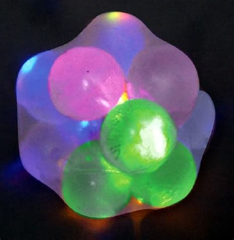 light up balls for playvisions light up molecule ball
