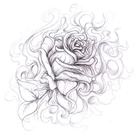 drawing tattoo roses drawings magellin a my