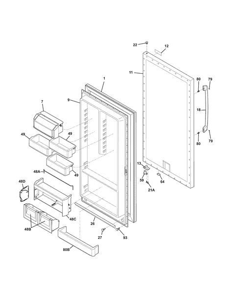 electrolux parts diagram electrolux refrigerator parts diagram best free home