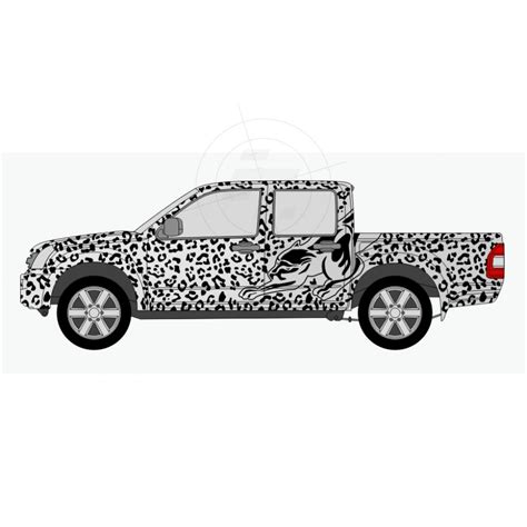 Caravan Aufkleber by Leopardenfell Aufkleber F 252 R Auto Pkw Kfz Transporter