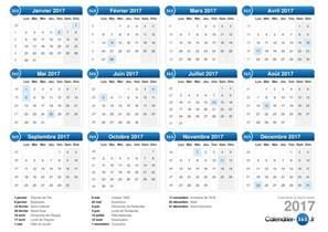 Calendrier 2018 Avec Numero Semaine Calendrier 2017