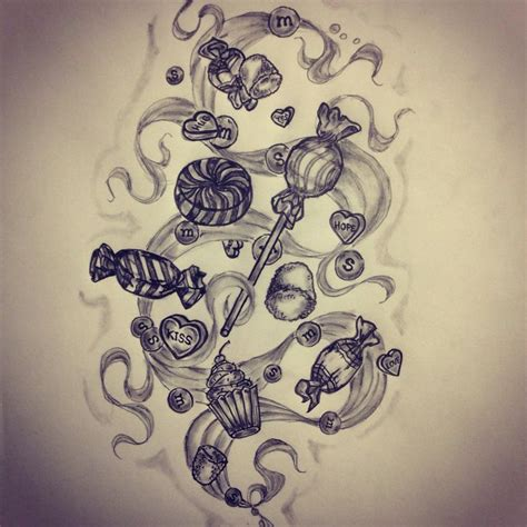 sweets tattoo designs sketch by ranz