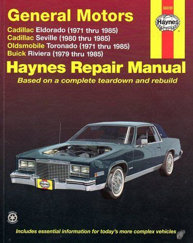 motor auto repair manual 1985 buick electra on board diagnostic system sell used 1984 buick riviera base coupe 2 door 5 0l in joplin missouri united states for us