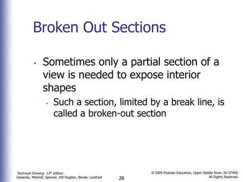 broken out section view ppt sectional views powerpoint presentation id 371747