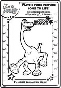 color and play play disney dinosaur color coloring pages sketch