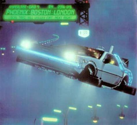 future flying cine y coches el delorean de marty mcfly 27vueltas