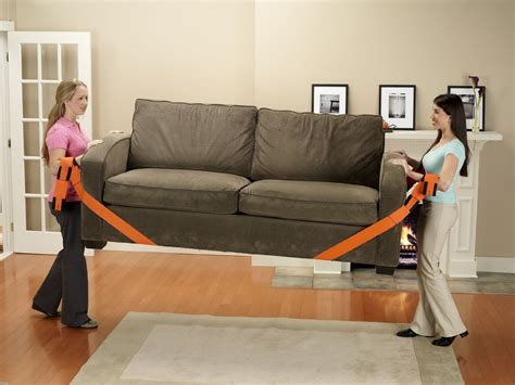 moving couch above all forearm forklift lifting and moving straps only