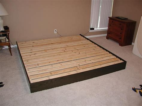 platform bed diy platform bed frame diy platform bed