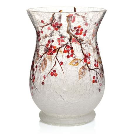 yankee candle berries hurricane vase ebay