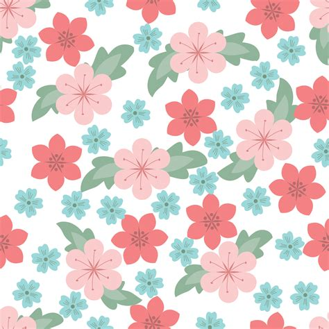 pattern for flower flower pattern