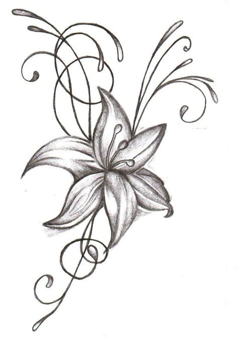 flower tattoo design simple simple flower designs cliparts co