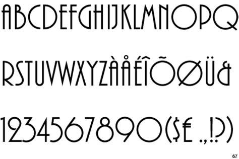 fontscape home > period > art deco (1920 1935) > sans serif