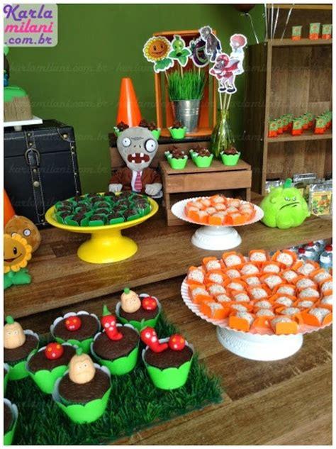 Plants Vs Zombies Decorations by Kara S Ideas Plants Vs Zombies Themed Birthday