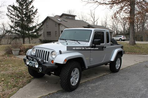 jeep jk8 2007 jeep jk8 truck by owner