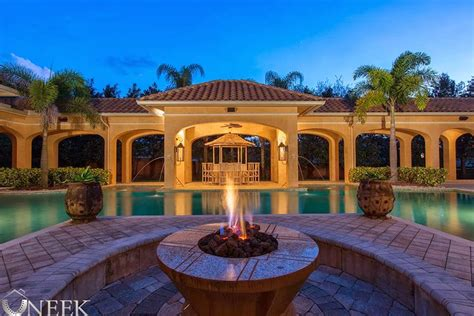 large one story homes magnificent mediterranean estate custom built single story