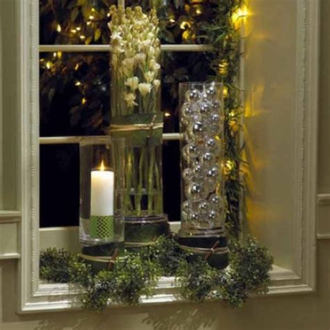 window sill christmas decorations interior decoration tips articles how to decorate a window sill