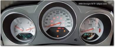 Dodge Caliber Warning Lights Light In Center Of Speedometer Dodge Avenger Forum