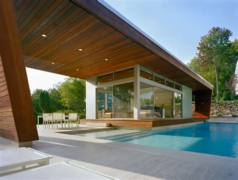 swimming pool house outstanding swimming pool house design by hariri hariri architecture digsdigs