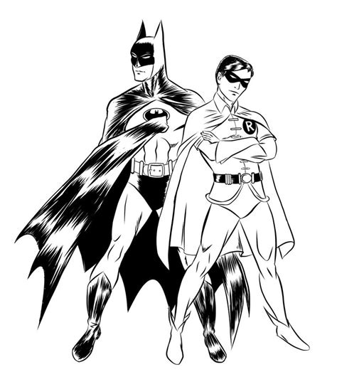 free coloring pages of batman logo robin logo