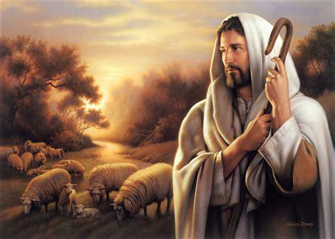 I See Said The Blind Man Poem Jesus The Good Shepherd Paintings Sheep Shepherd Jesus