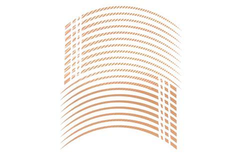 Felgenrandaufkleber Gold by Gp2 20 Quot Felgenaufkleber In Der Farbe Carbon Gold