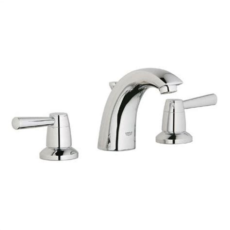 Grohe Arden Faucet grohe arden ecofriendly wideset bathroom faucet with optional handles