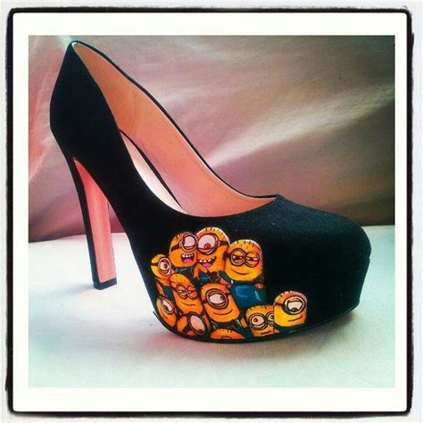 minion heels minion mania minion shoes