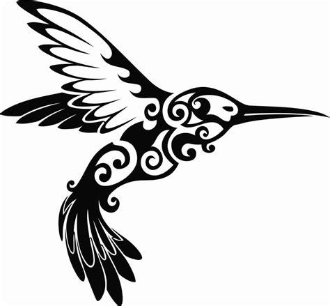 Tribal Sticker Design Decals by Tribal Hummingbird Design Vinyl Decal Sticker For Yeti