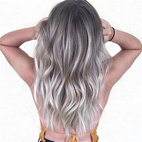 52 lavish gray hair ideas you ll love hair motive hair highlights for greying brown hair brown hairs