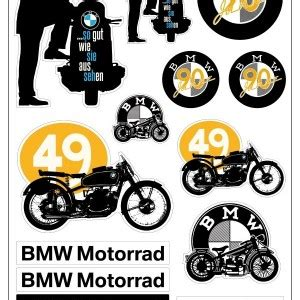 Bmw Heritage Sticker by Gifts Experience Motorcycles