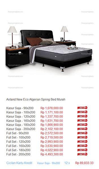Ranjang Airland harga airland bed termurah di indonesia daftar