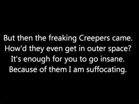 i m on one parody lyrics in description wrecking mob on screen lyrics minecraft parody of miley