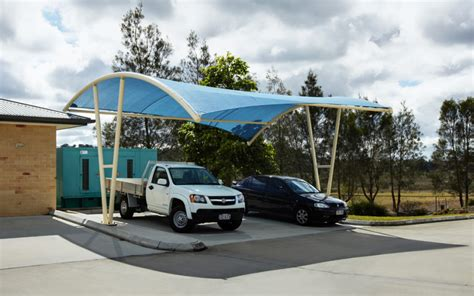 awning for cer car park shades car park shade in uae