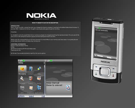 nokia themes zip nokia charcoal theme by snm net on deviantart