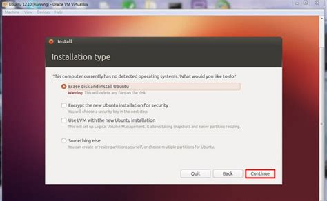 tutorial install ubuntu di windows 7 cara menginstall ubuntu 12 10 di virtualbox windows