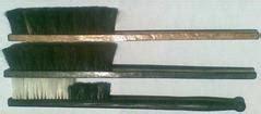 Sikat Kawat Kuningan Gagang Plastik Golok sikat tangan sikat gagang kayu brush duster