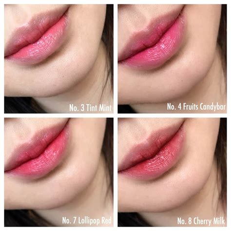 Laneige Lip Tint laneige two tone tint lip bar swatches beautypeadia