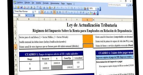tarifas sueldos isr 2016 calculo isr empleados 2016 tabla para calcular isr de