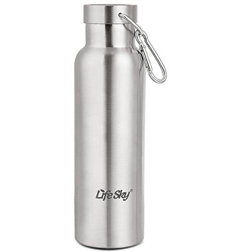 Termos Stainless Sarung Doraemon 600ml Bpa Free lifesky stainless steel sports water bottle walled vacuum insulated wide bpa