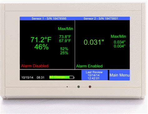 how to humidity in clean room tv2 digital cleanroom monitor alarm track temperature humidity pressure