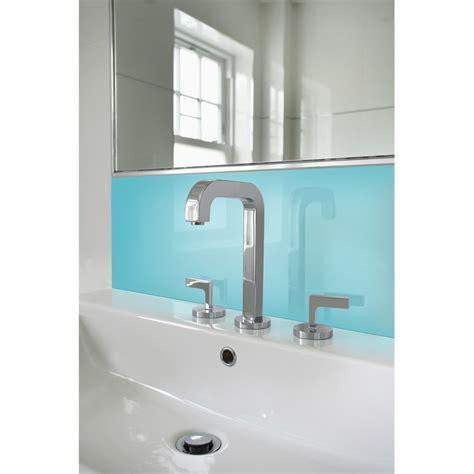 splashback panels bathroom vistelle 1200 x 300 x 4mm sky high gloss acrylic vanity
