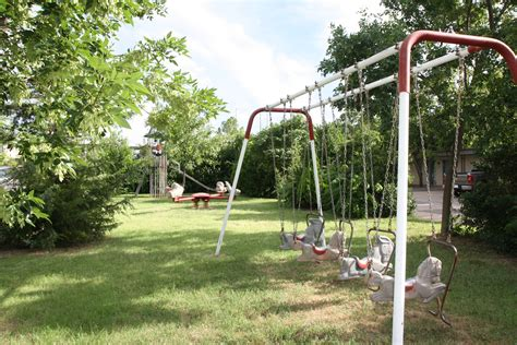 teeter totter swing playground