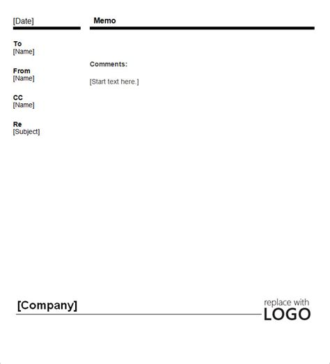 blank memo template business memo template 18 free word pdf documents