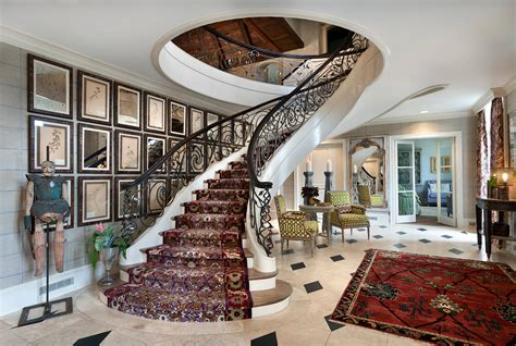 boldly elegant eclectic staircase designs