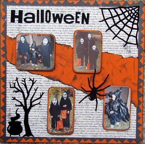 Scrapbook Layout Ideas For Halloween | halloween scrapbook page scrapbooking pinterest